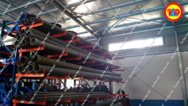 Dự án kệ tay đỡ (cantilever racking) của Tín Đạt JSC