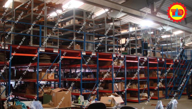 Lựa chọn Tín Đạt JSC để lắp đặt kệ sàn mezzanine floor