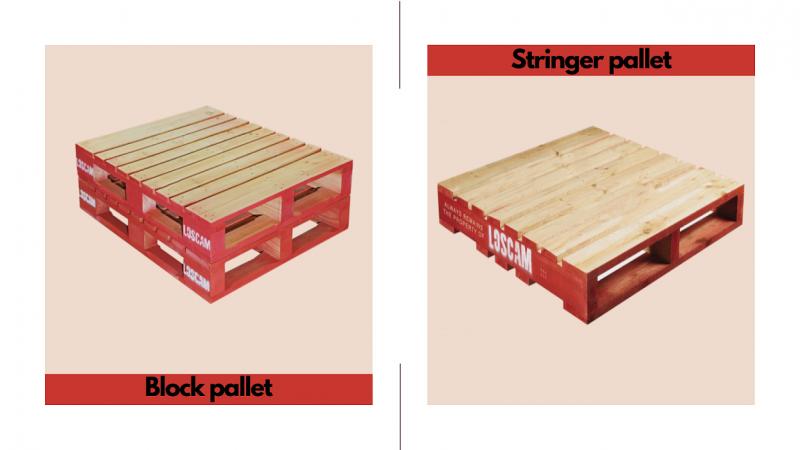 block pallet và stringer pallet